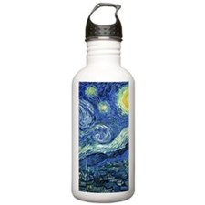Van Gogh Starry Night Sports Water Bottle
