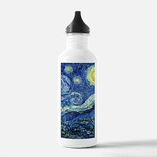 Van Gogh Starry Night Sports Water Bottle