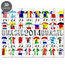 Football Shirts Puzzle