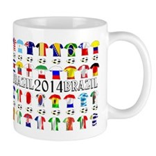 Football Shirts Mugs