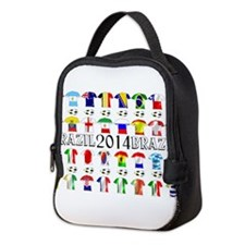 Football Shirts Neoprene Lunch Bag