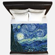 Van Gogh Starry Night King Duvet