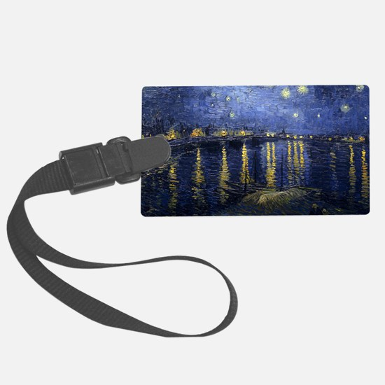 Van Gogh Starry Night Over Rhone Luggage Tag
