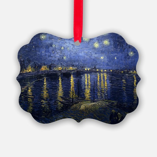 Van Gogh Starry Night Over Rhone Ornament