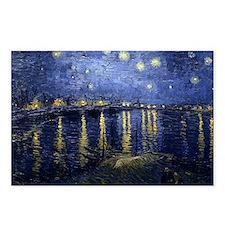 Van Gogh Starry Night Ove Postcards (Package of 8)