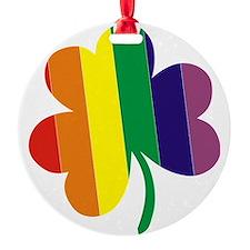 Irish Pride Shamrock Ornament