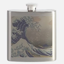 Hokusai The Great Wave off Kanagawa Flask