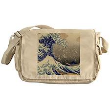 Hokusai The Great Wave off Kanagawa Messenger Bag