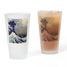Hokusai The Great Wave off Kanagawa Drinking Glass