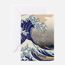 Hokusai The Great Wave off Kanagawa Greeting Card