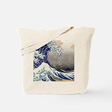 Hokusai The Great Wave off Kanagawa Tote Bag