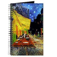 Van Gogh Cafe Terrace At Night Journal