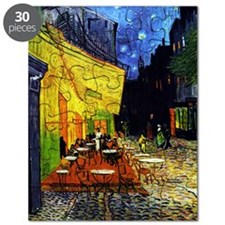 Van Gogh Cafe Terrace At Night Puzzle