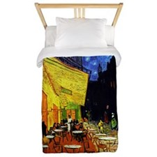 Van Gogh Cafe Terrace At Night Twin Duvet