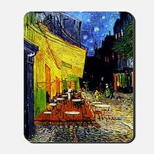 Van Gogh Cafe Terrace At Night Mousepad