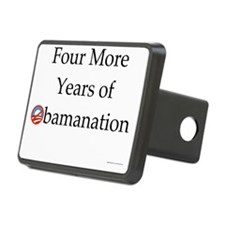 Four More Years of Obamana Hitch Cover