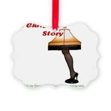 Christmas Story Electric Leg Lamp Ornament