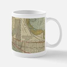 Vintage Map of Niagara Falls NY (1893) Mugs