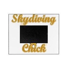 Skydiving Chick #2 Picture Frame