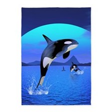 orca_84_curtains_835_H_F 5'x7'Area Rug