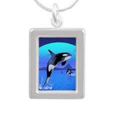 orca_84_curtains_835_H_F Silver Portrait Necklace
