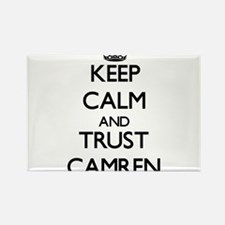 Keep Calm and TRUST Camren Magnets