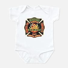 Memphis Fire Department Infant Bodysuit
