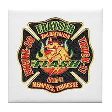 Memphis Fire Department Tile Coaster