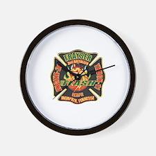 Memphis Fire Department Wall Clock