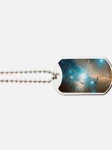 Horsehead and Flame nebulae Dog Tags