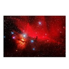 Horsehead and Flame nebul Postcards (Package of 8)