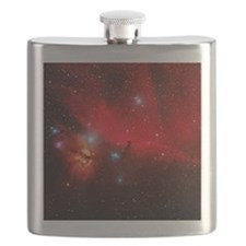 Horsehead and Flame nebulae Flask