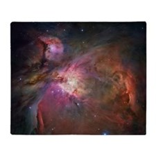 Orion Nebula Throw Blanket