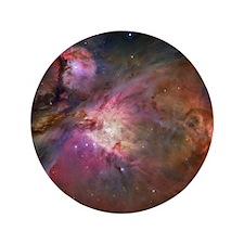 "Orion Nebula 3.5"" Button"
