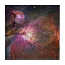 Orion Nebula Tile Coaster