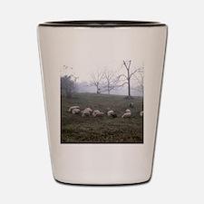 Misty Morning Shot Glass