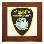 Glenn County Sheriff Framed Tile
