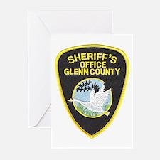 Glenn County Sheriff Greeting Cards (Pk of 10)