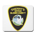 Glenn County Sheriff Mousepad