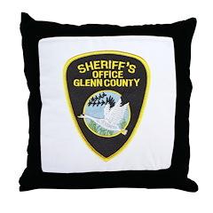 Glenn County Sheriff Throw Pillow