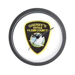 Glenn County Sheriff Wall Clock