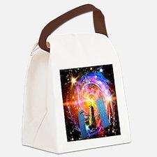 Hubble Space Telescope Canvas Lunch Bag