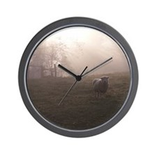 Out of the Fog Wall Clock