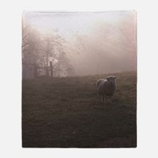 Out of the Fog Throw Blanket