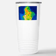 Hot drink, thermogram Stainless Steel Travel Mug