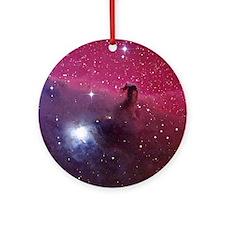 Horsehead Nebula Round Ornament