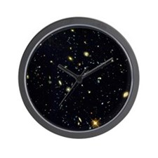 HST deep-view of several very distant g Wall Clock
