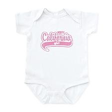 """""""100% California Girl"""" Infant Bodysuit"""