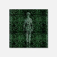 """Human body, abstract artwor Square Sticker 3"""" x 3"""""""