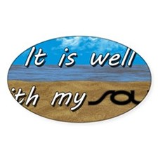 Well With My Soul Beach Decal
